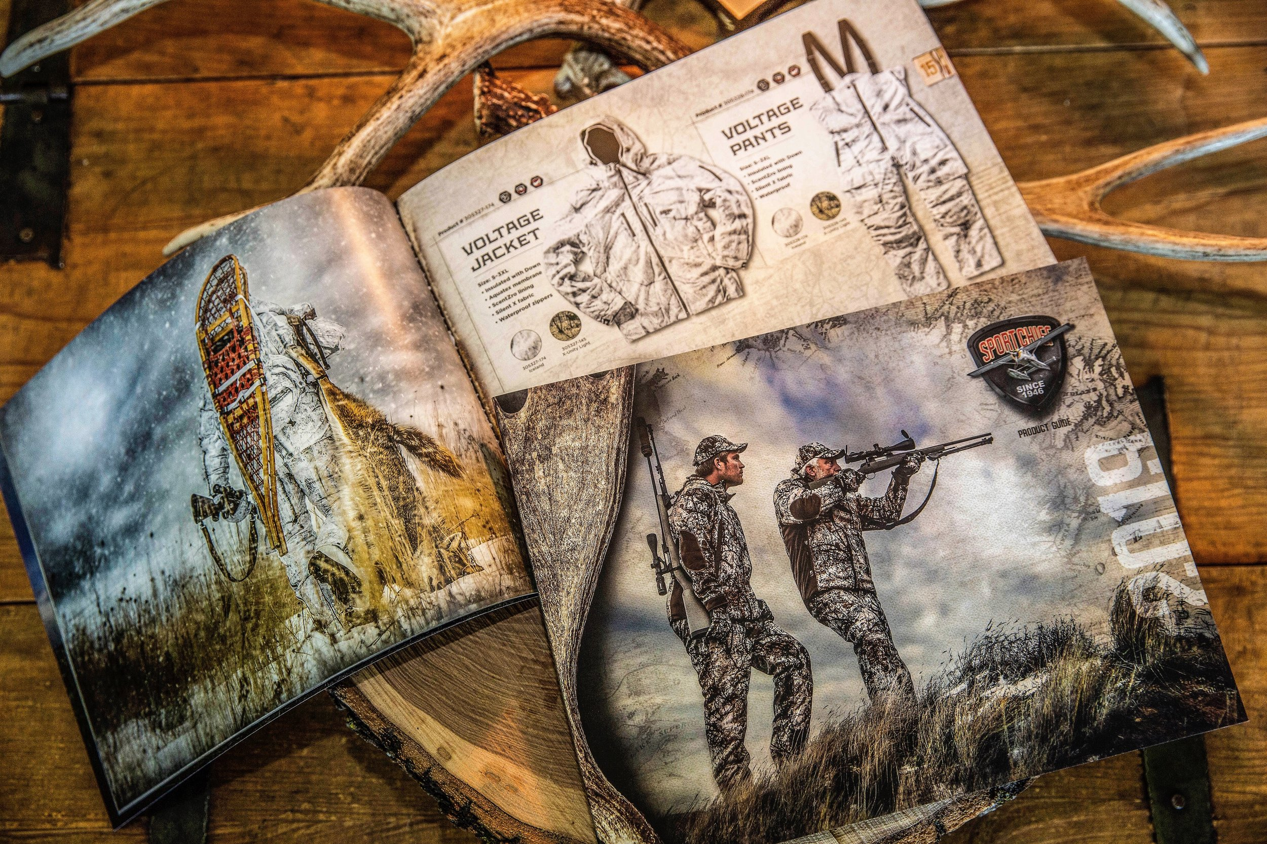 Hunting & Fishing Catalog for Sportchief