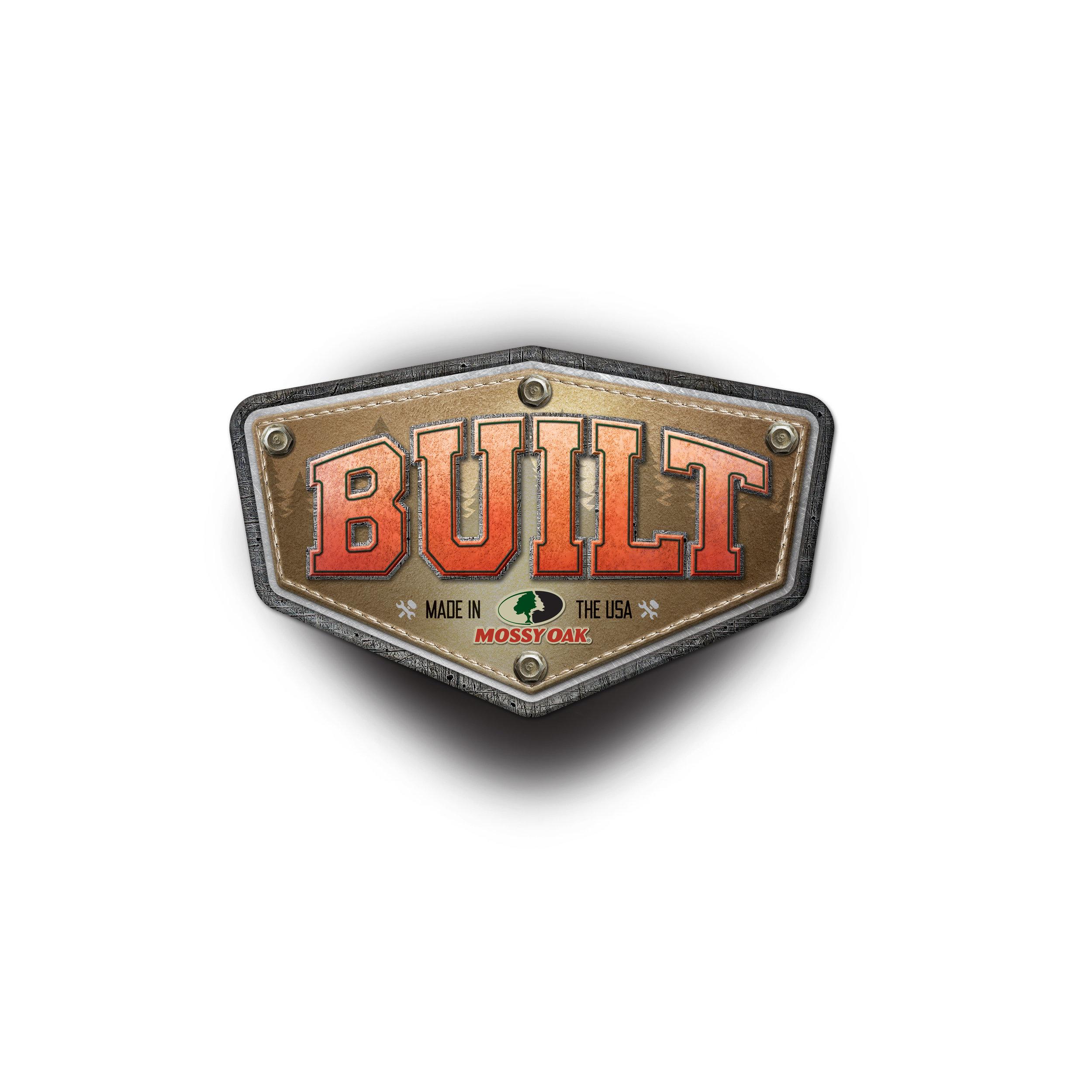 Logo design for Mossy Oak Built show series