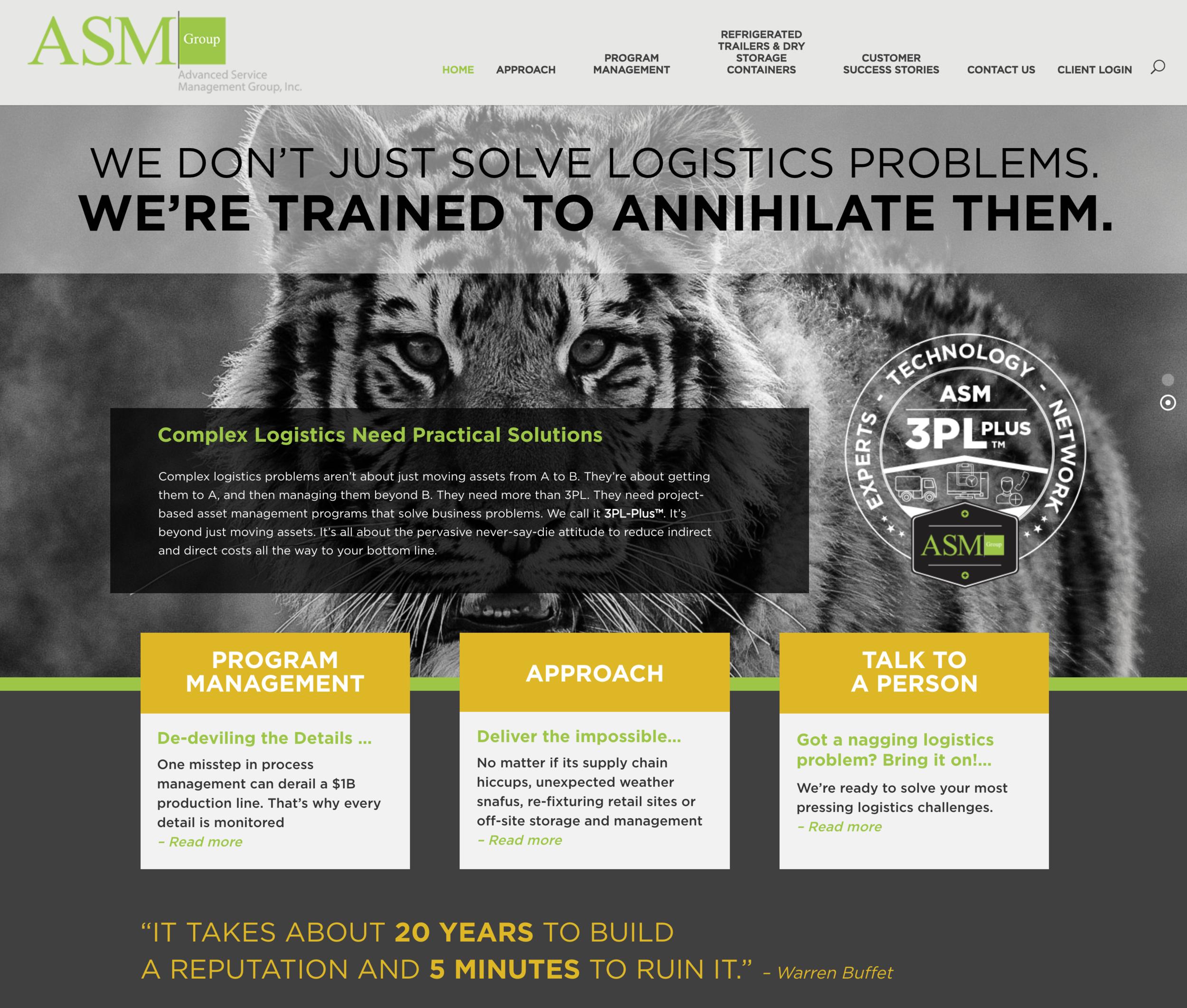 Website for ASM Group