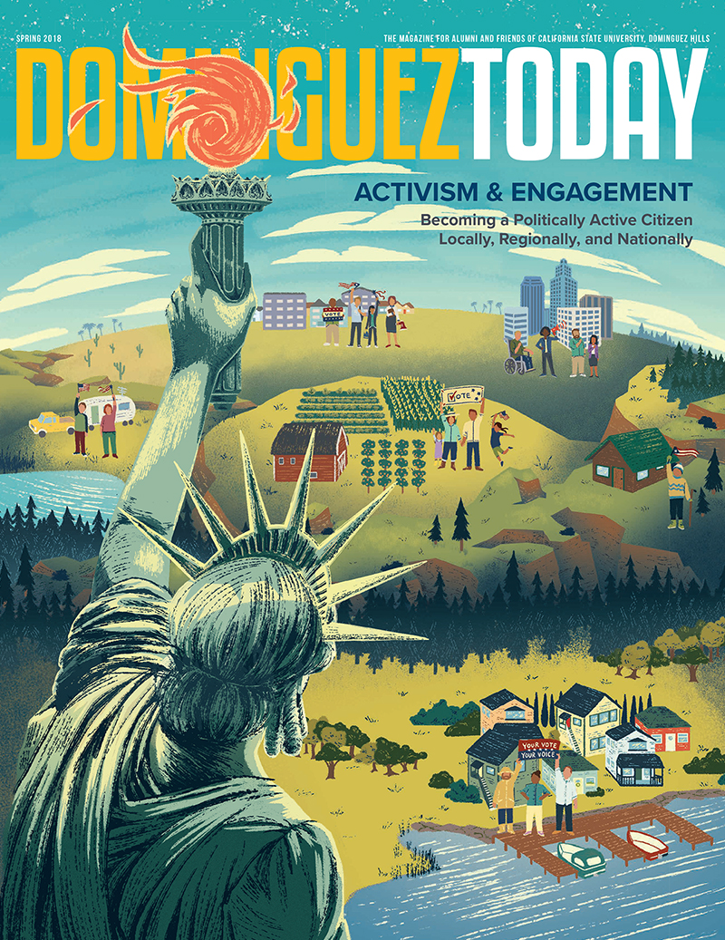 Dominguez Today (Winter 2018) Cover