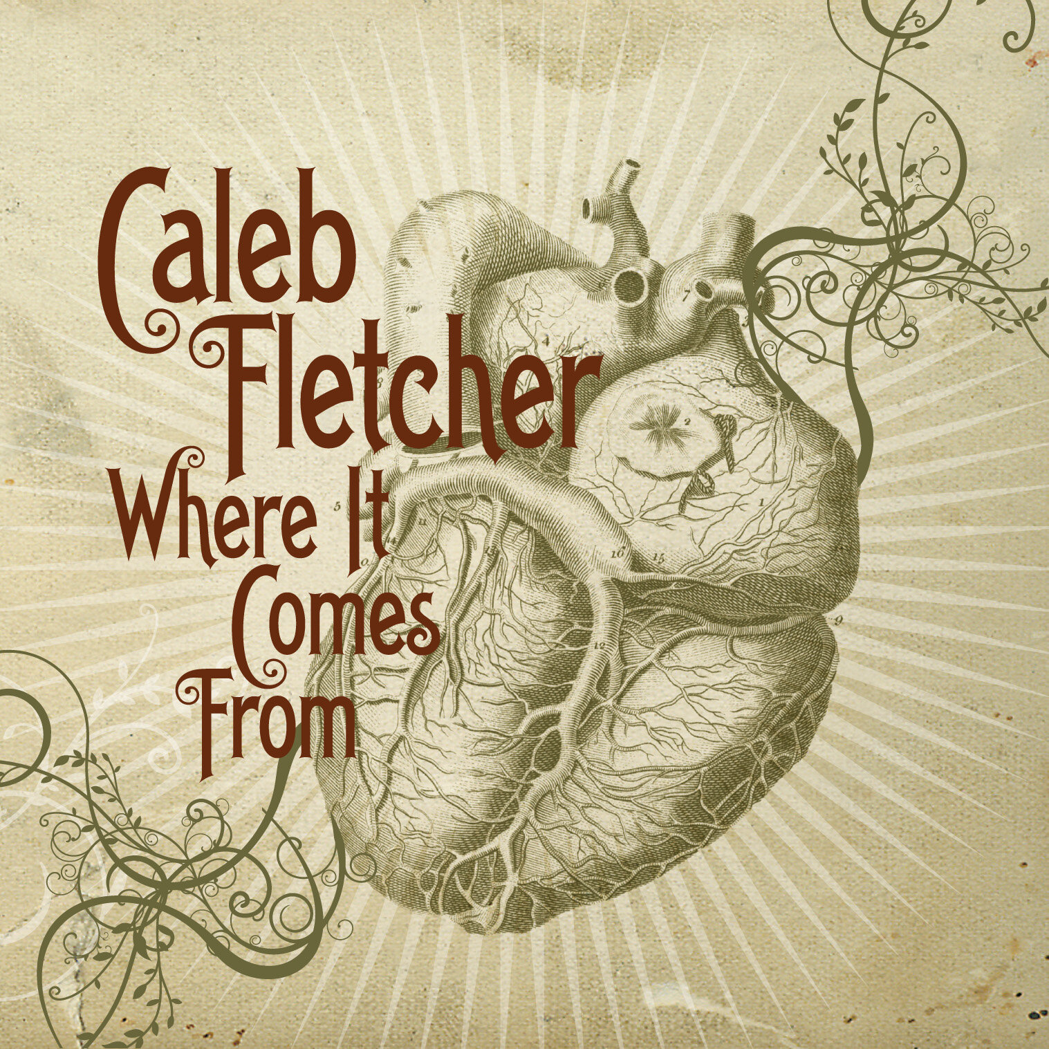 Released October 2, 2012 Produced by Noel Golden, Palmetto Roots Recorded/Mixed by Noel Golden (Willie Nelson, Edwin McCain, Matchbox Twenty) at  Whitestone Studios, Greenville, SC Mastered by Alex Lowe at Red Tuxedo Mastering, Atlanta, GA All songs written by Caleb Fletcher (ASCAP)