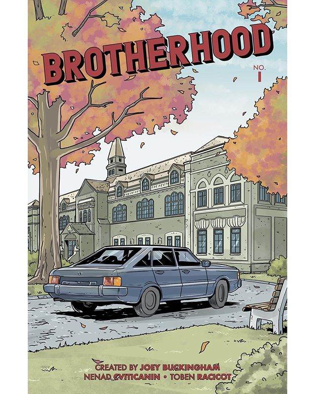 We have 1 WEEK LEFT for the #Kickstarter of Brotherhood, my first original comic story! We still need your backing to help bring this story to life! We want to get this story into more hands and your support will get us to that goal. We are excited to include the first three pages of issue one sharing some of the completed artwork. The only way to read the full story is by pledging on Kickstart. The link is in the bio. #LGBTQ #webcomics #indiecomics #queer #gaywriters #gay #superhero #comics #comicbooks #JoeyBuckingham #webcomic