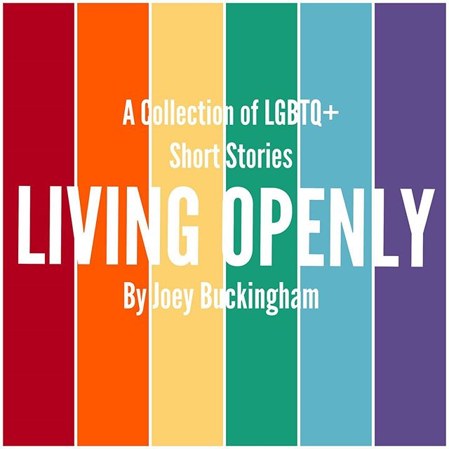 "I'm so happy to share in this wondrous #PrideMonth a sneak peek at my new short story collection called #LivingOpenly, the second story is called ""DATr,"" artwork by #LuizGustavo! Excited to reveal the other four stories in this collection throughout the month of June! #Pride #LGBTQ #Comics #Webcomics #GayComics #GayWriter #JoeyBuckingham"