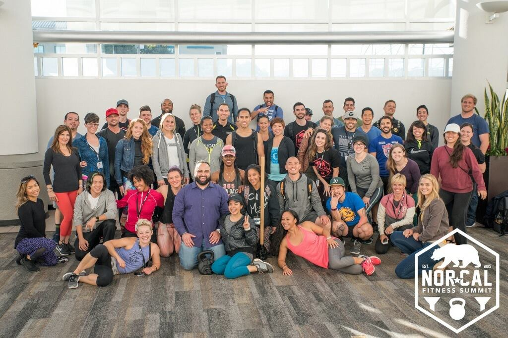 Here is my NorCal Fitness Summit 2016 FitPro Fam! Most of us are Personaly Trainers or business or Facility owners, VIPs in the fitness industry... the list goes ON! The great part about this small community is that there is any kind of support you need for any level of business you need help in. Who do you have to go to for advice about your fitness or business goals?