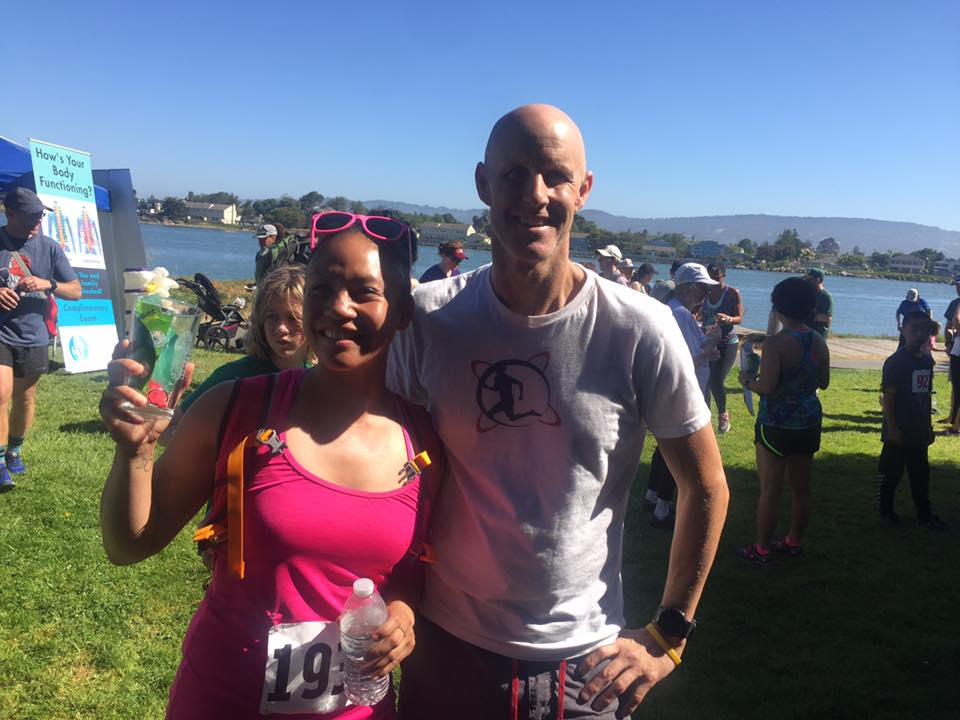 Alameda Hospital Foundation 5k: I won 3rd Place for 30-39 age group! Woot Woot! Here's the race director Steve Ashbaker. Now on to the Alameda Running Festival in September!