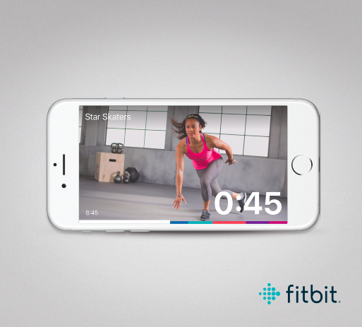 Join me for a workout on the  FITBIT COACH APP!    Use code: CR6PRQ  and get some great short workouts for any part of your day!