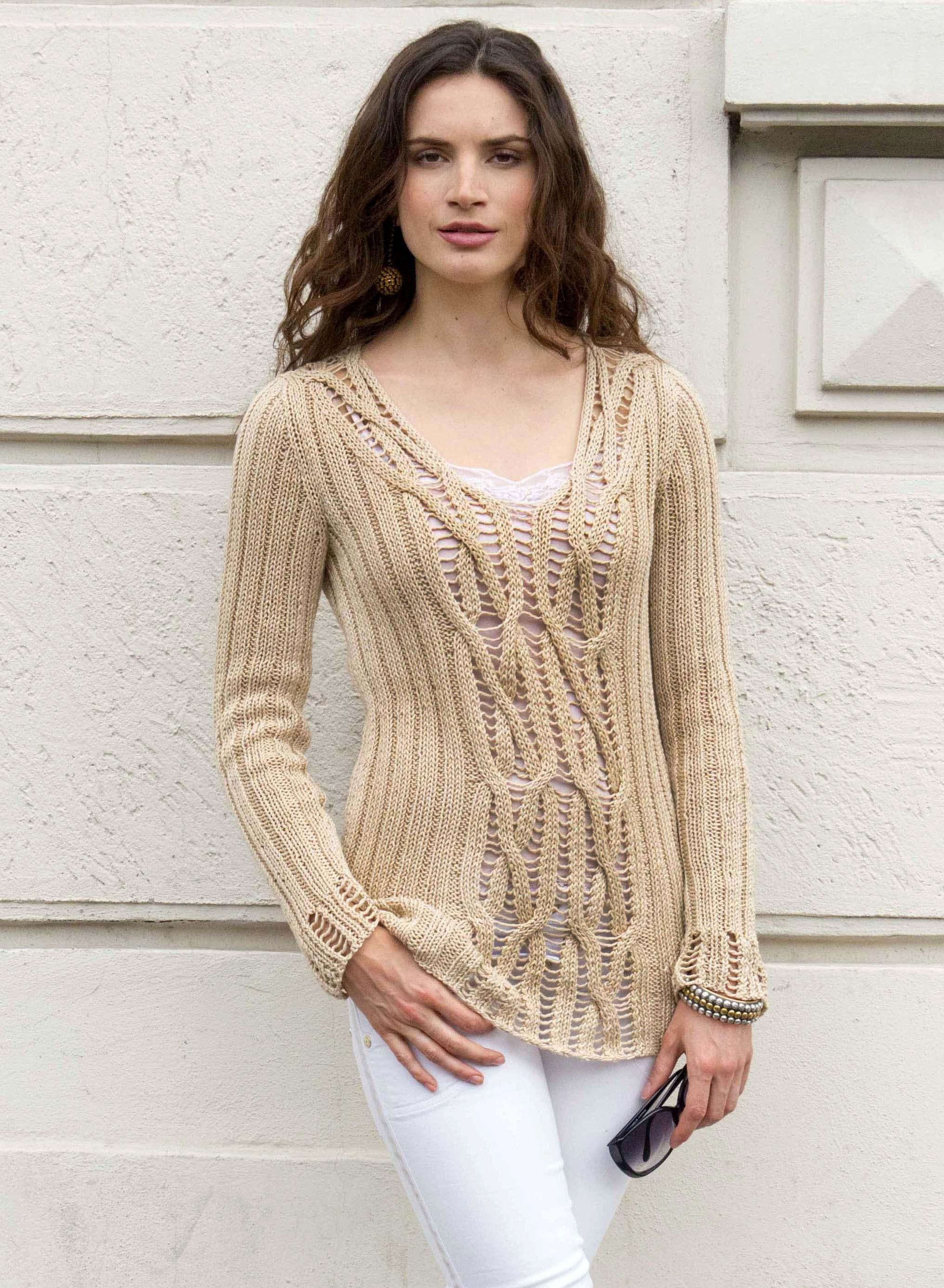 Giuliano&GiusyMarelli_Pull Onde di sabbia_Front_Knit 'd' Crochet Collection_.jpg