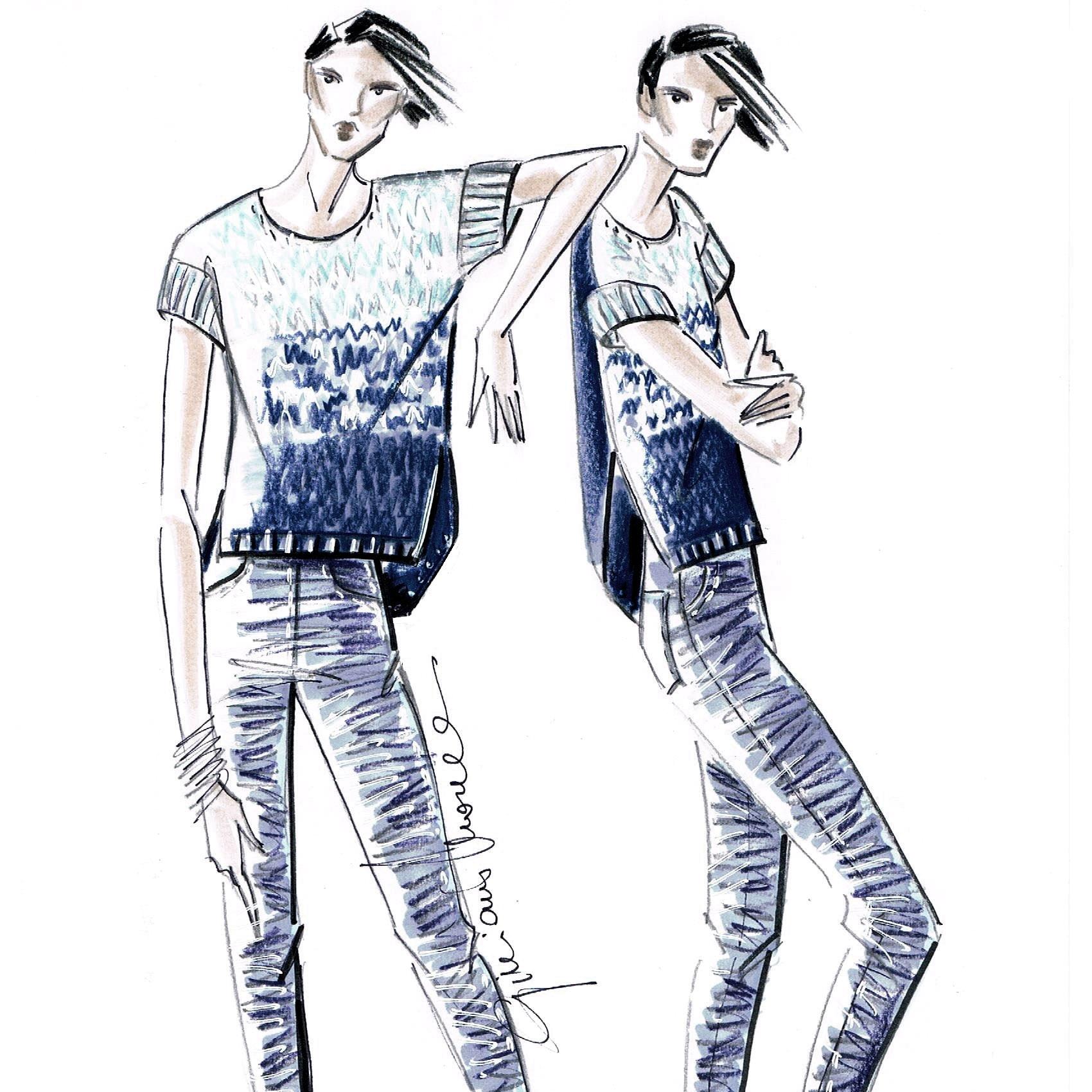 G&GM_DMC_T-shirtDenim_Figurini