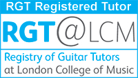 Harrison is an RGT@LCM examiner and registered tutor -