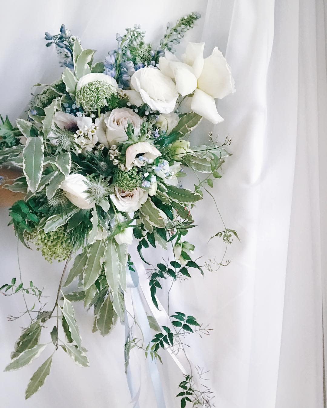Astrid's bridal bouquet  Lime Tree Bower
