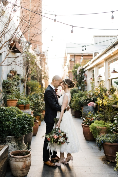 Photo by  Captured Frames  at the  The Grounds of Alexandria  via  Polka Dot Bride