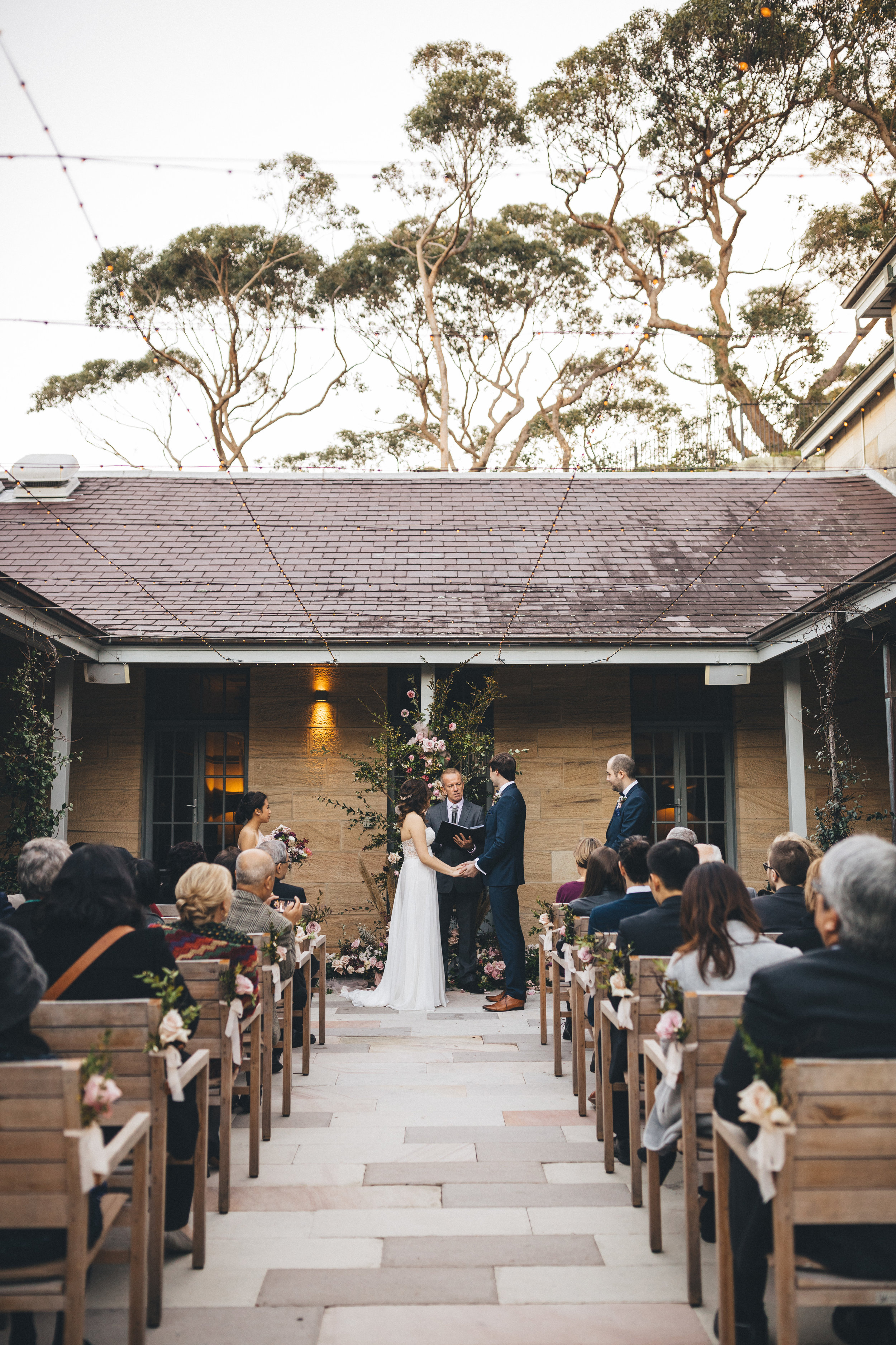 Ceremony chairs - Depending on the location, you might need to consider hiring chairs if the venue itself does not provide them.