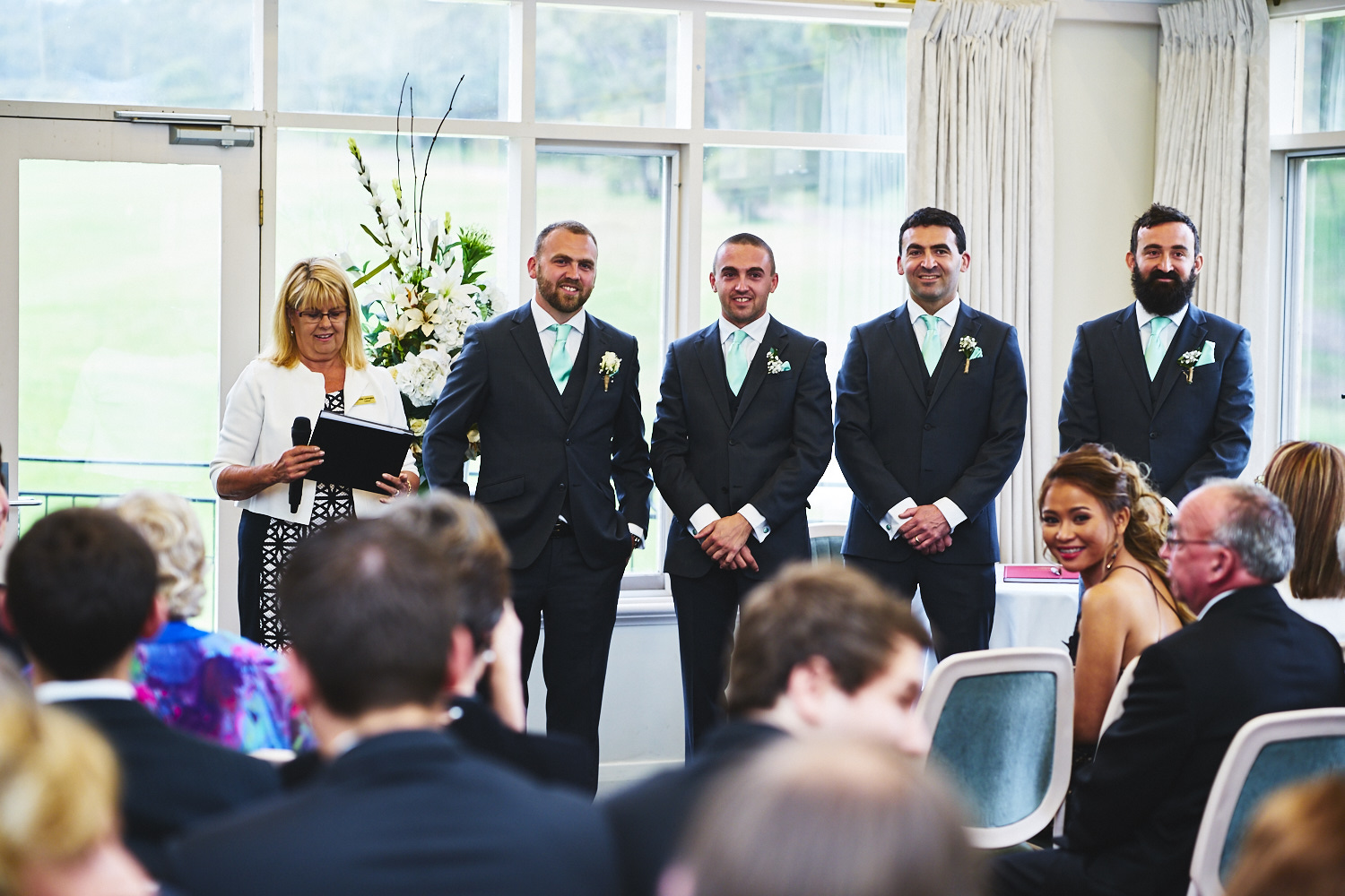 wedding ceremony belair country club adelaide