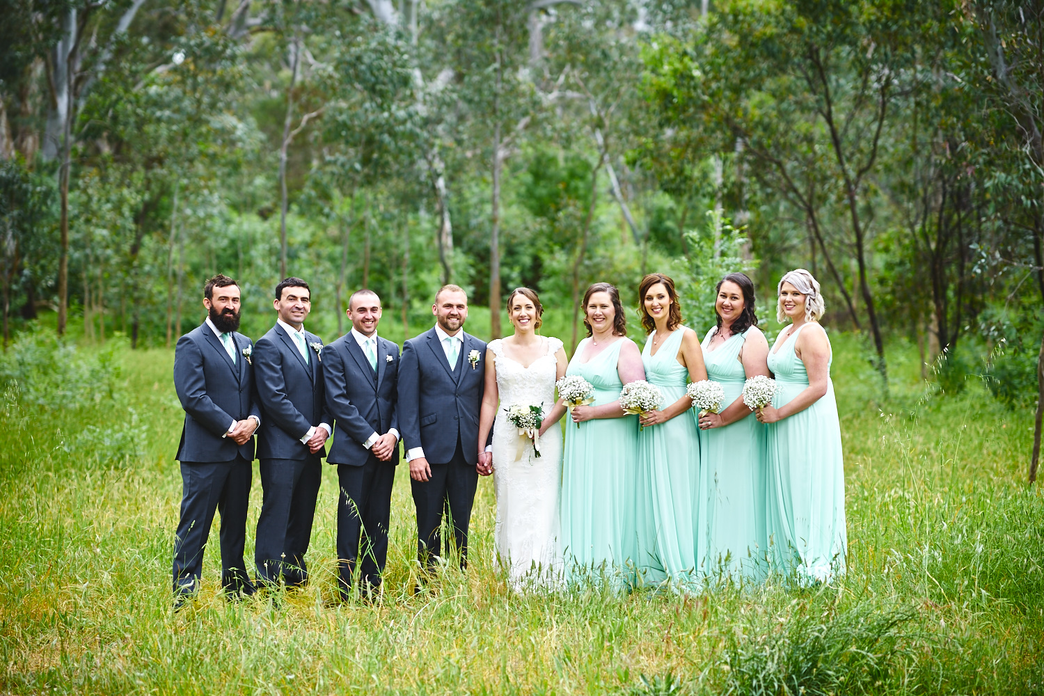bridal party belair national park adelaide