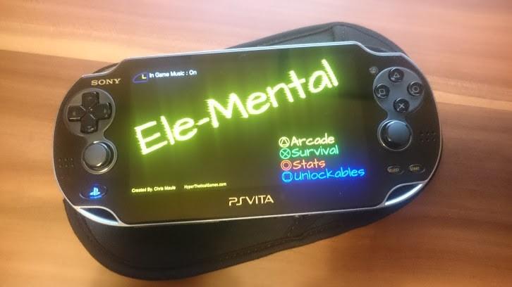 Ele-Mental on the PS Vita