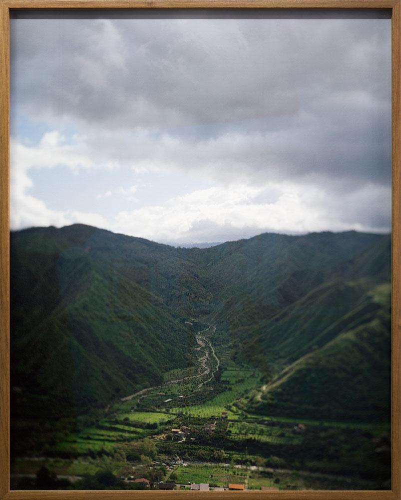 Apparition V  7/8  Inkjet print from scan  48 x 60 cm  2018