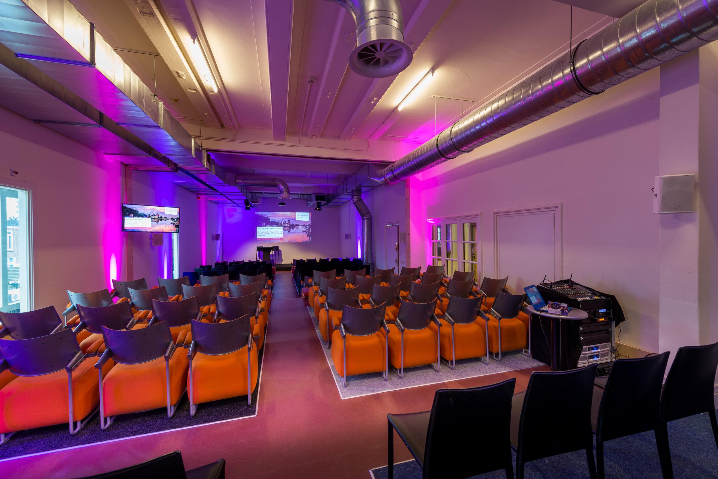 Muntstraat 9  Capaciteit 225 personen Zaalverhuur vanaf €1.150,-