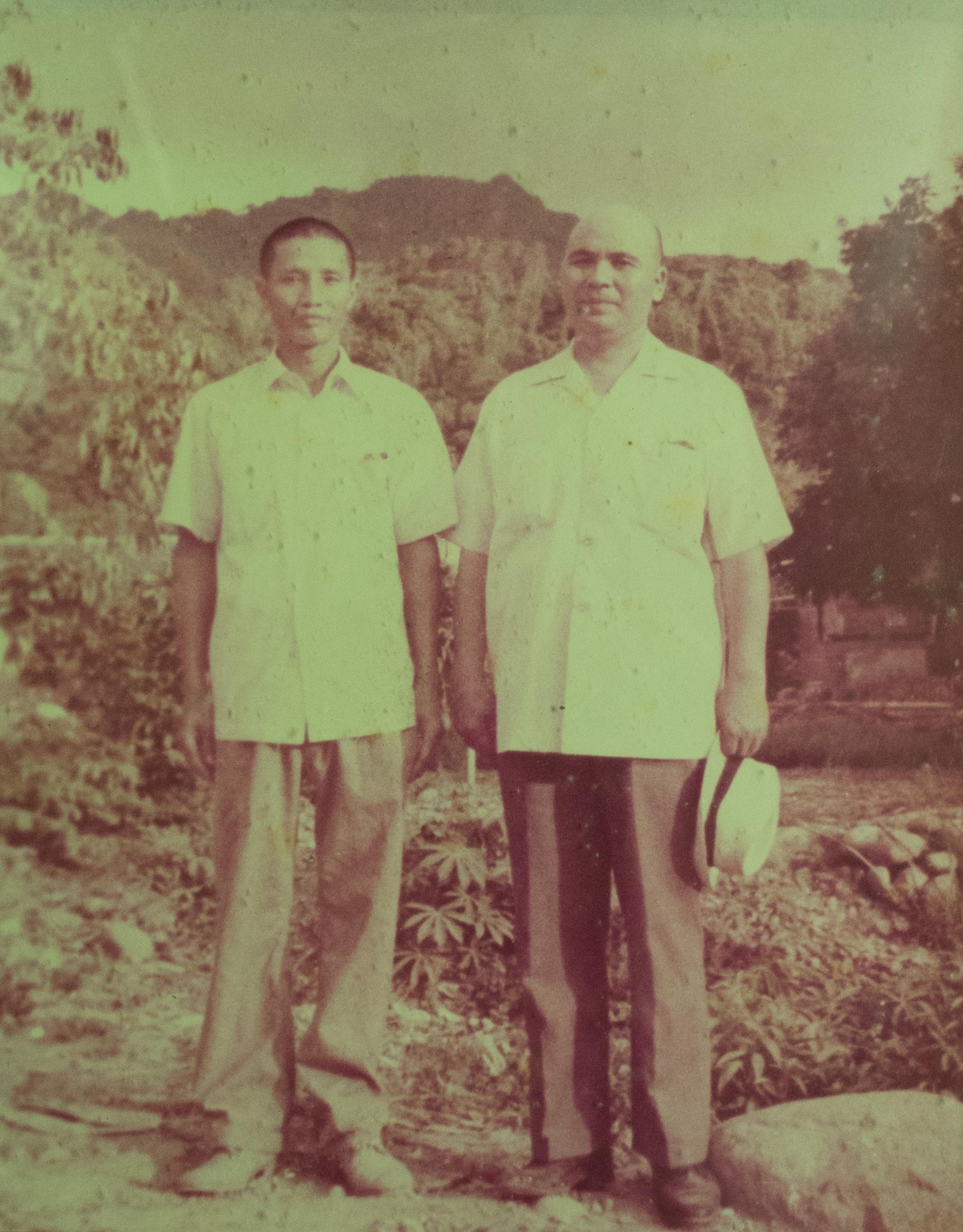 王壽老前人與林春良點傳師