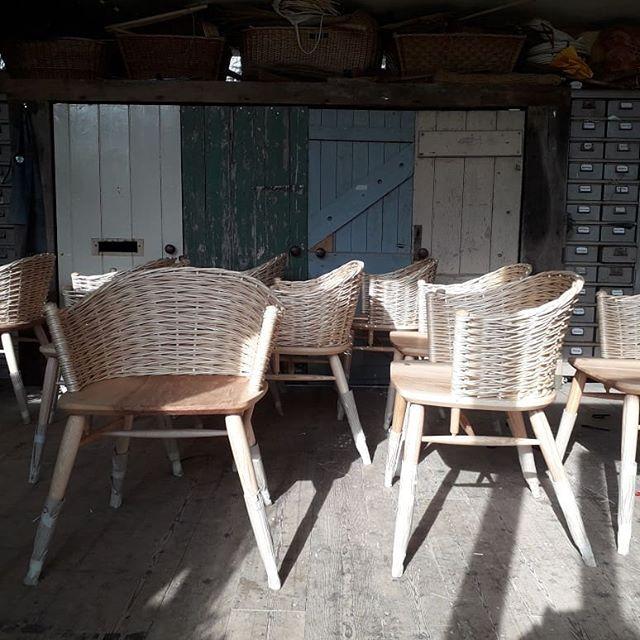 I've got chairs. They're multiplying. @thenewcraftsmen  @garethnealfurniture