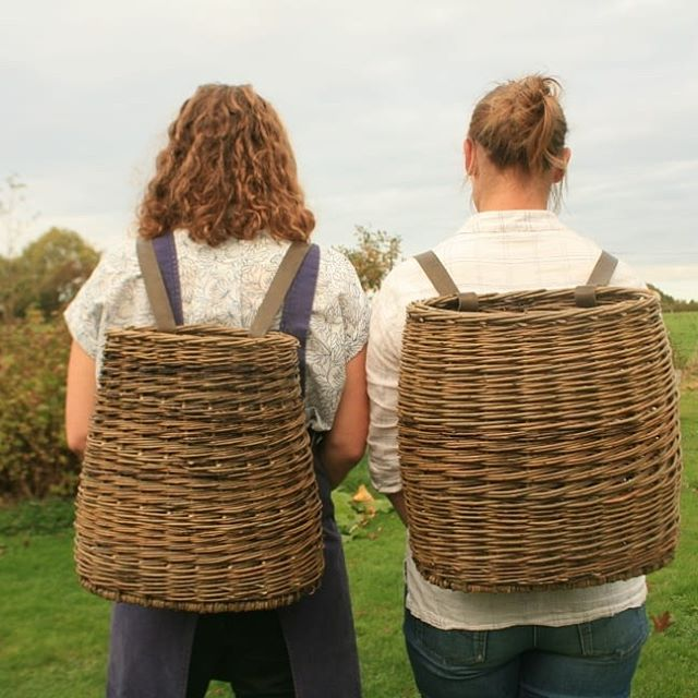 Backpacks and bicycle baskets in Sussex Last chance to grab a couple of places on this 3 day willow course. Really looking forward to teaching this.  5-7 July SAOG Studios Forest Row  More details and booking  Www.sacredartofgeometry.com  @sacredartofgeometry  @joannasancha