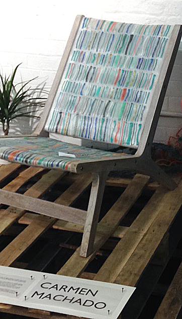 One of Carmen's luxury beach chairs