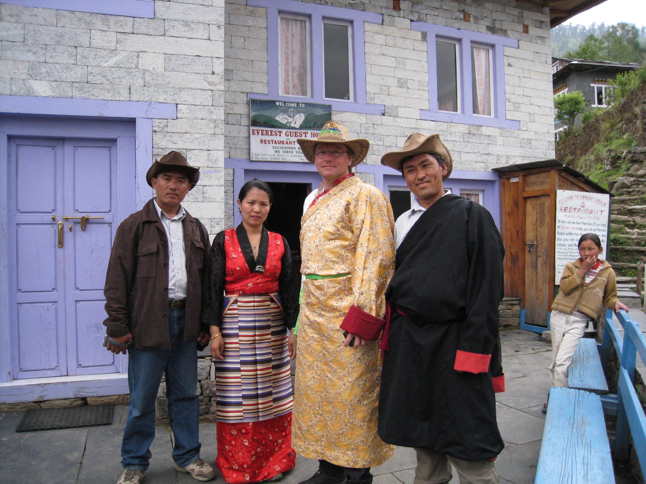 Chhongba, Lakhpa, Gavin, Geljen