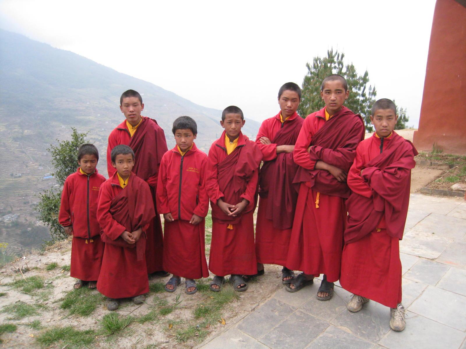 Monk disciples