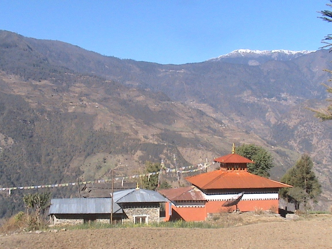 MM Nepal building monasteries in the villages of Bumburi and Bupsa.JPG