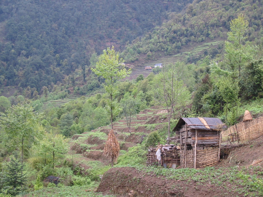 Villages provided with hydro-electric power