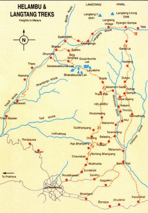 Langtang Valley Itinerary