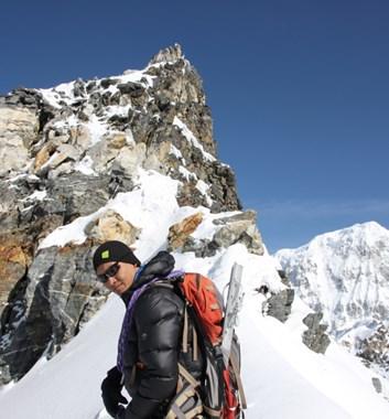 Lapsang Sherpa on Yala Peak Summit