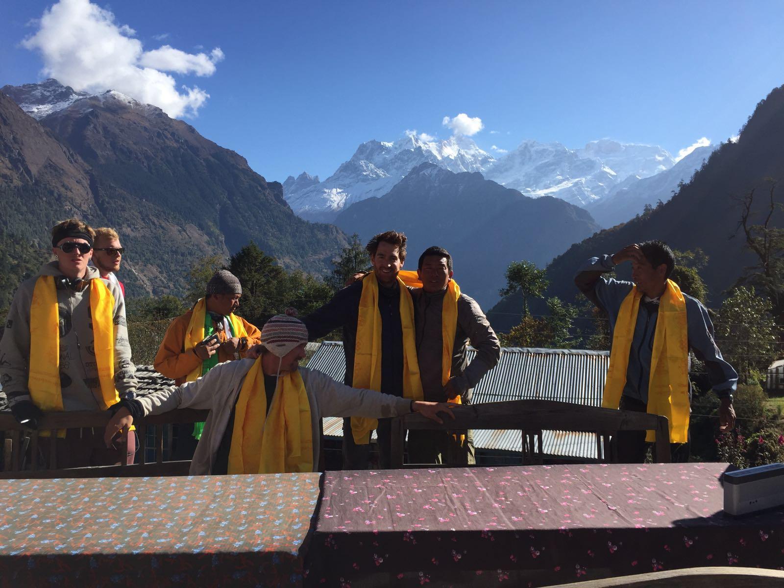 Our team - Himlung Himal