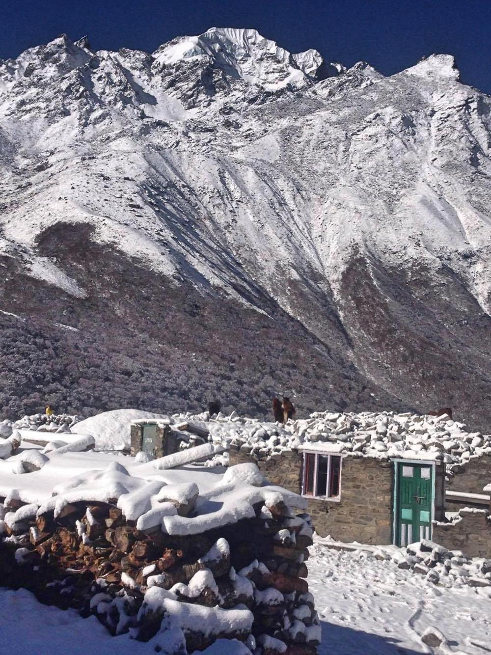 Beautiful sceneries - mountains - Langtang Valley Trek