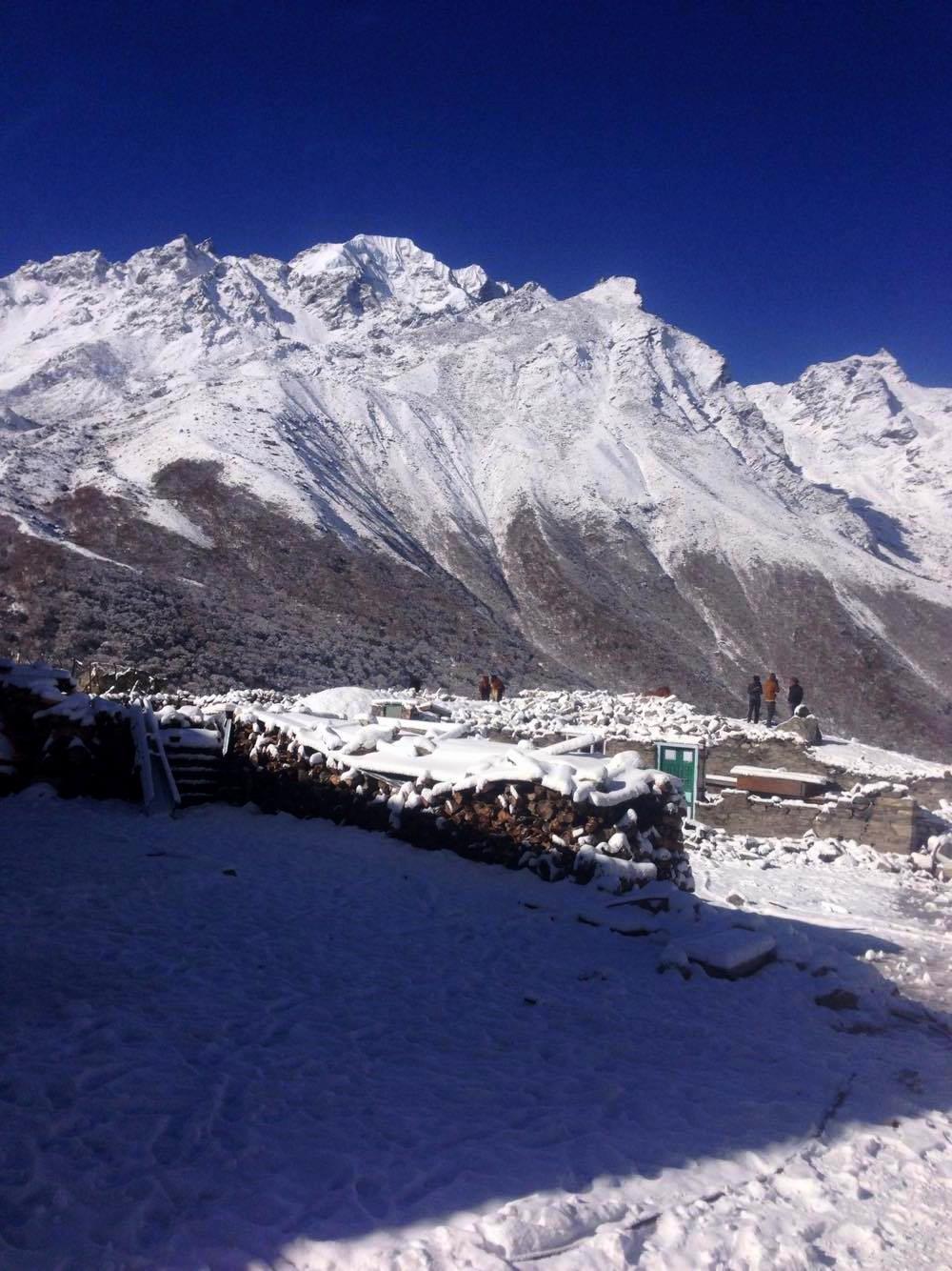 The majestic mountains Langtang Valley Trek