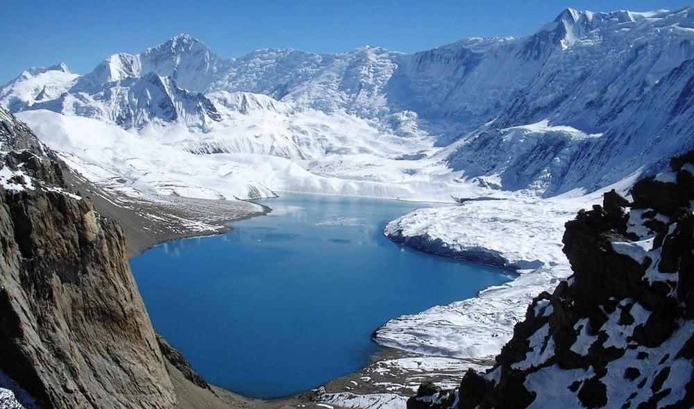 The beautiful Annapurna Tilicho Lake