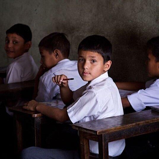 Child Teaching -