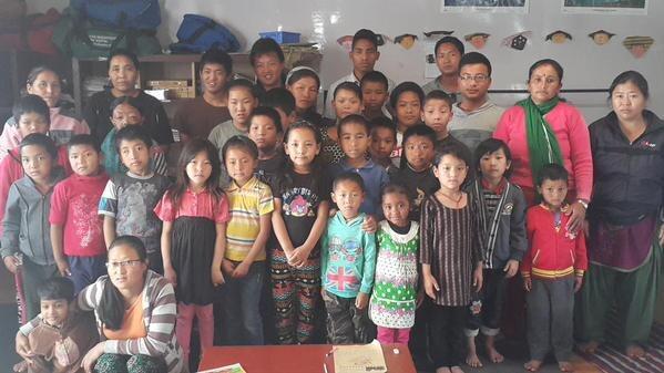 Children at Center for Disabled Children Assistance.