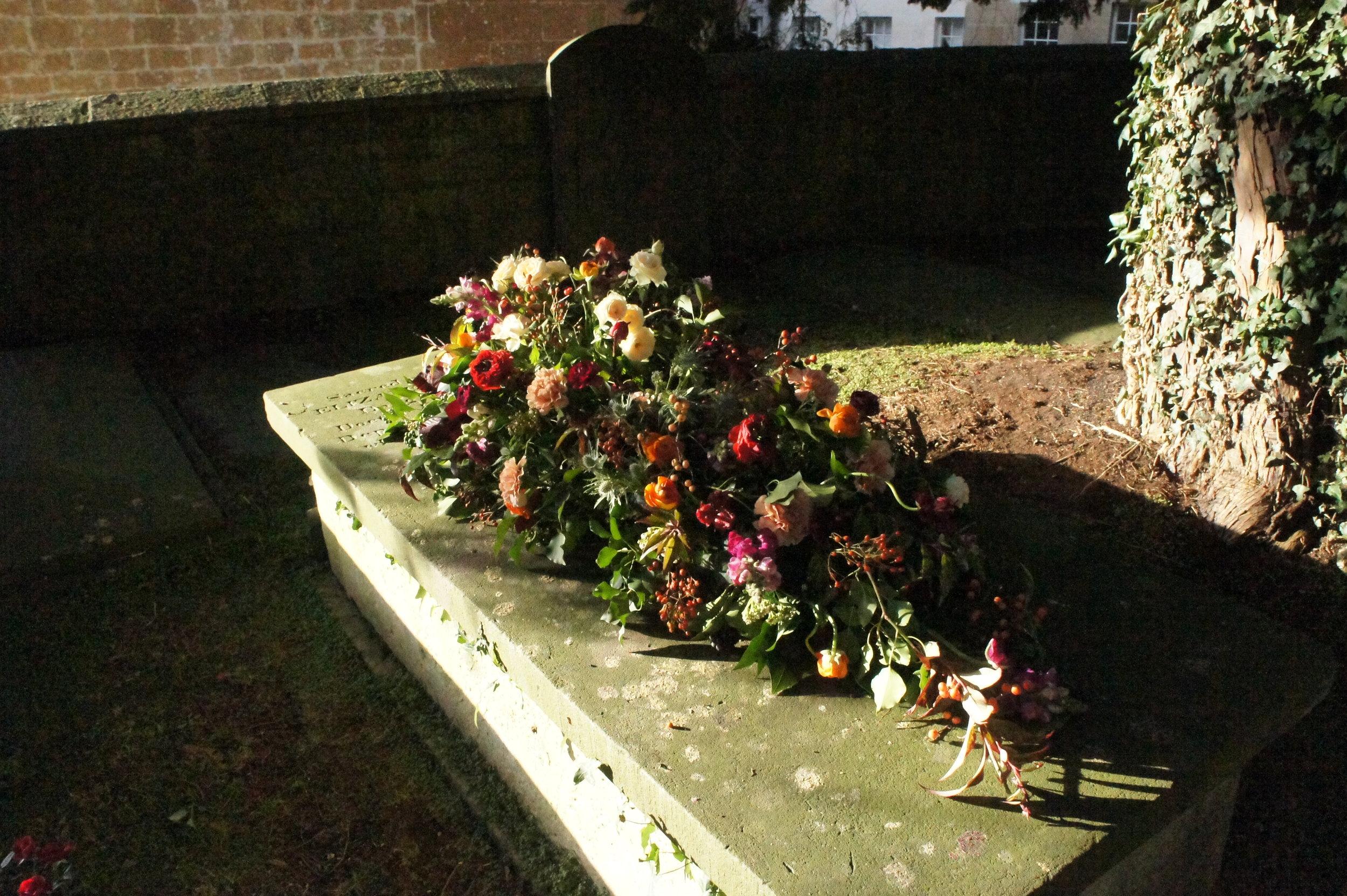 Natural Funeral Flowers Casket Spray (2).JPG