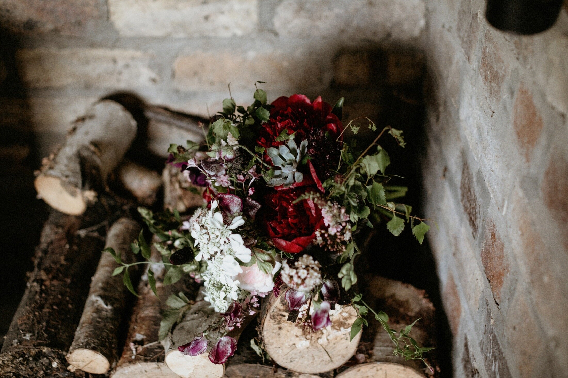 Burgundy And Blush Rustic Summer Wedding At Harelaw Farm Sustainable Wild Flower Wedding And Funeral Flowers By Briar Rose Design