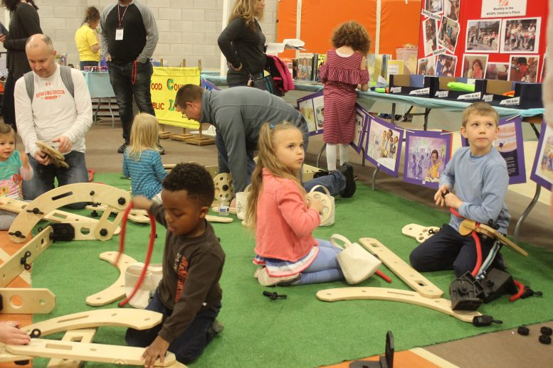Construction activity with the Wood County District Public Library