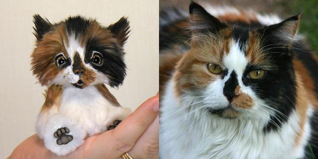 """CALLIE - 4"""" Mini Cat"""