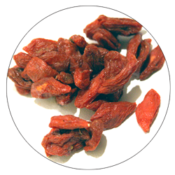 Gou Qi Zi - (Goji Berry) 12gThese sweet berries provide high levels of micronutrients, increase athletic performance, and support sleep.