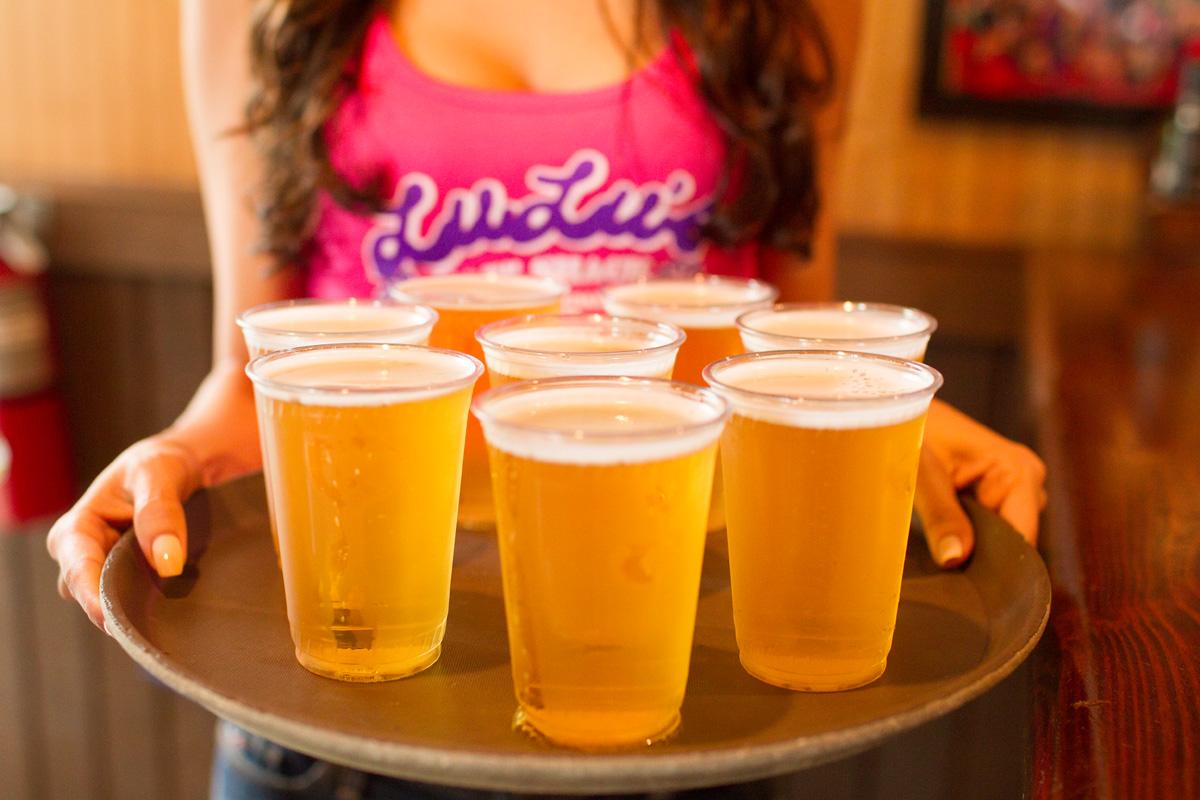 Lulu's Happy Hour Draft Beer