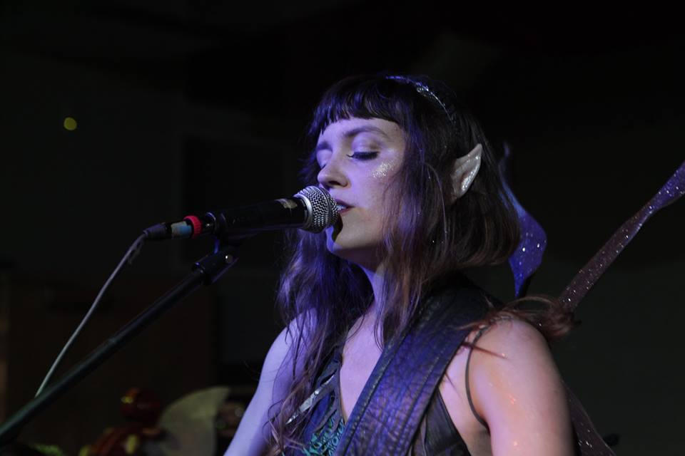 Photo by Brian Wimer at IX Art Park at my masquerade ball.