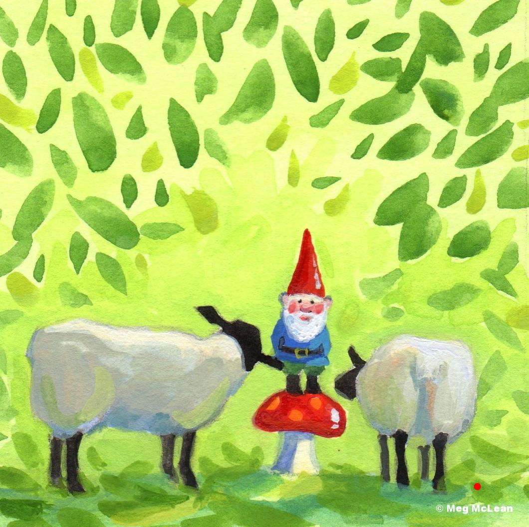 Meg McLean curious sheep