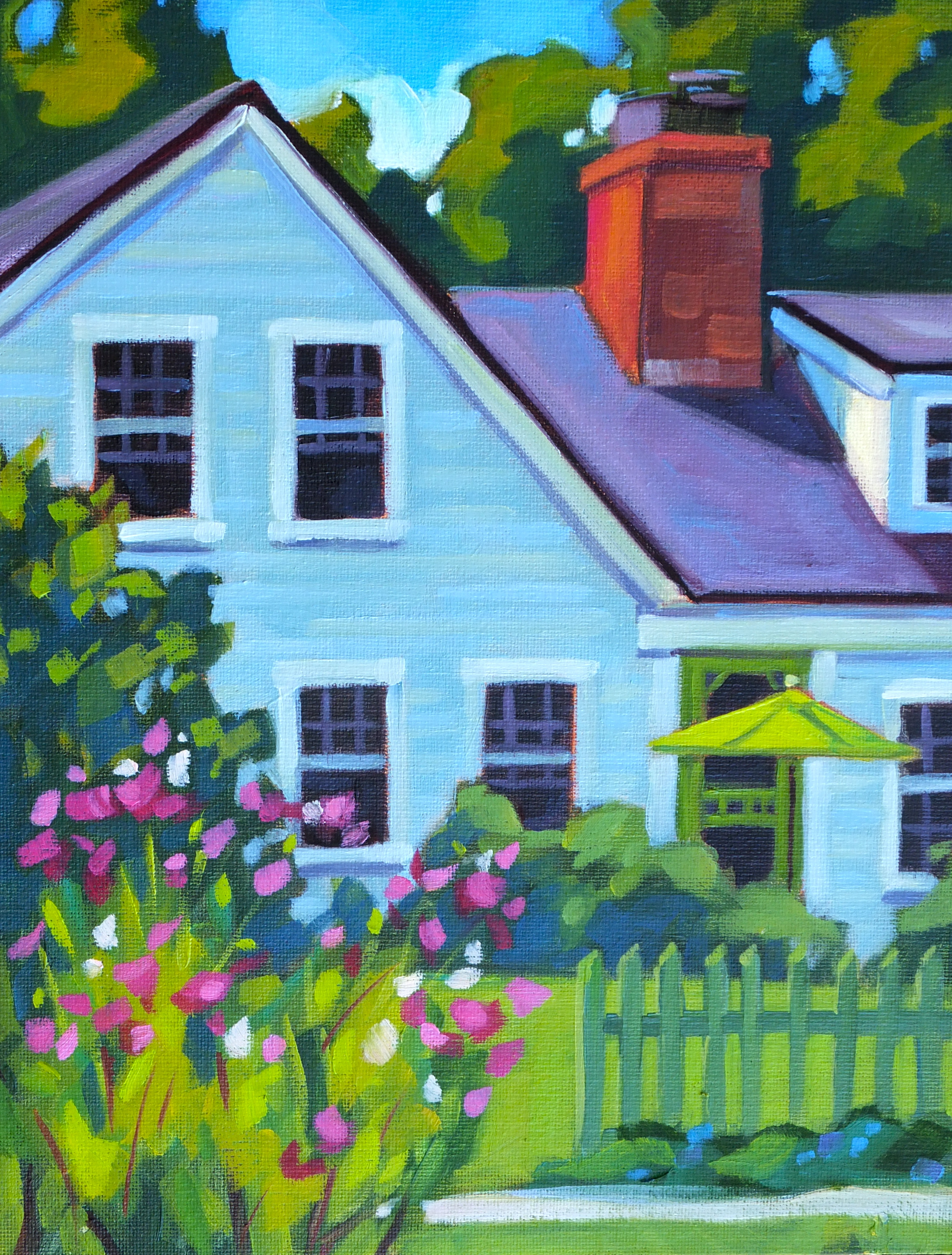 Cosmos and Clapboards