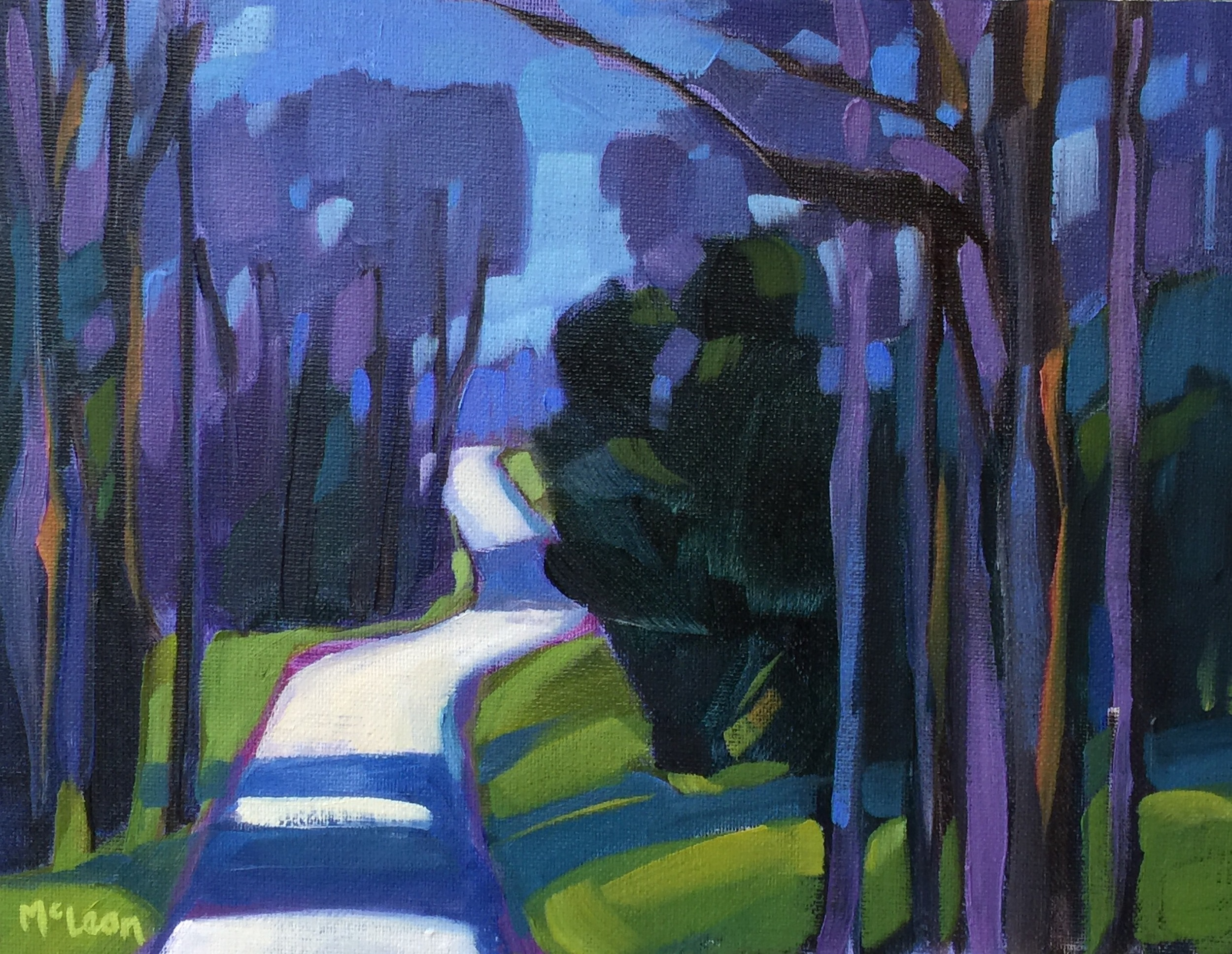 Indian Pond Road Purples
