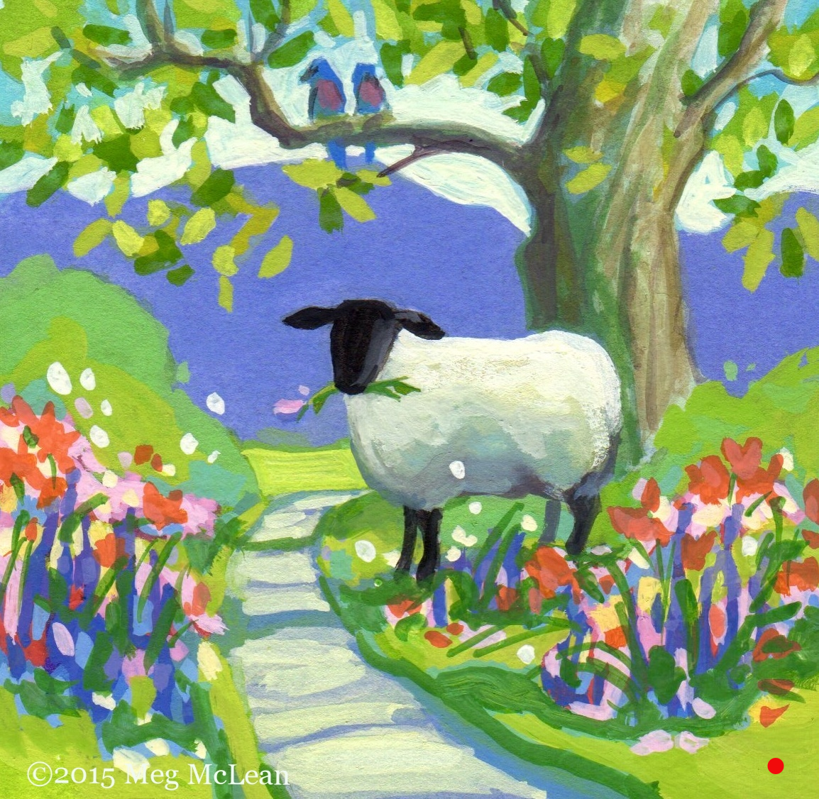 Tiptoe Through the Tulips Sheep