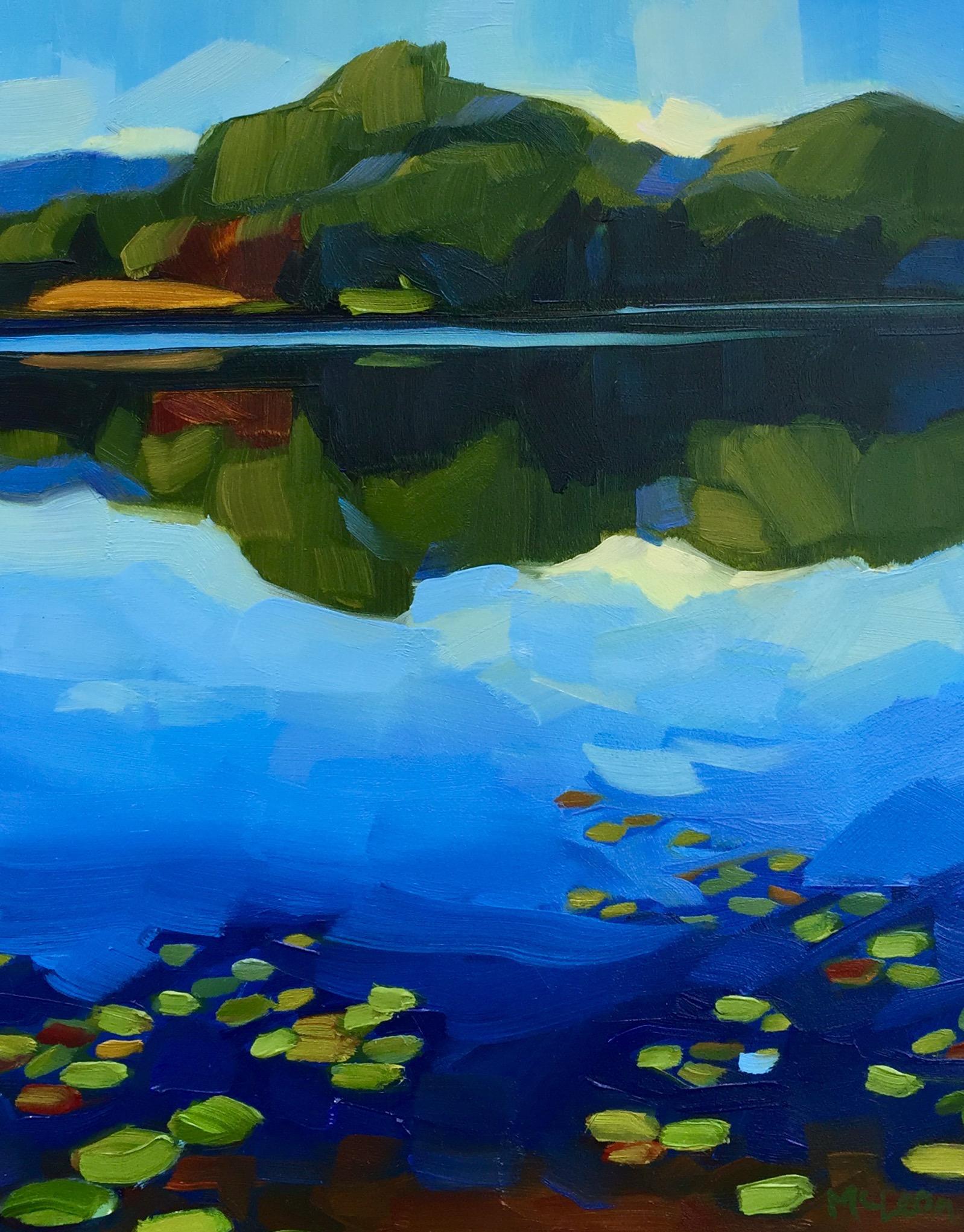 Reflecting on Post Pond