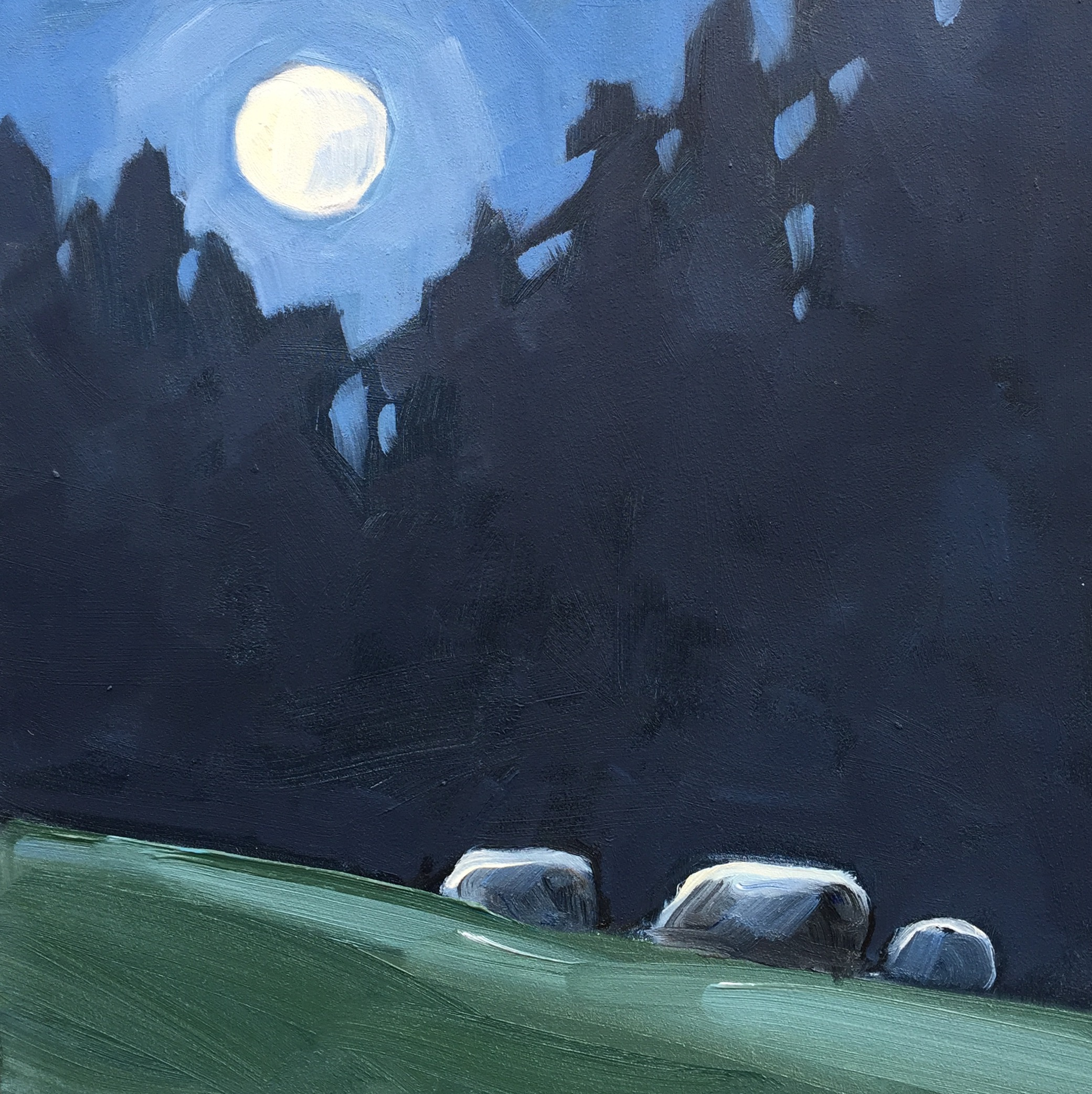 The Moon is Full; The Sheep Never